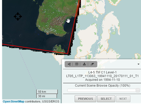 Accessing Satellite imagery – Saga GIS tutorials